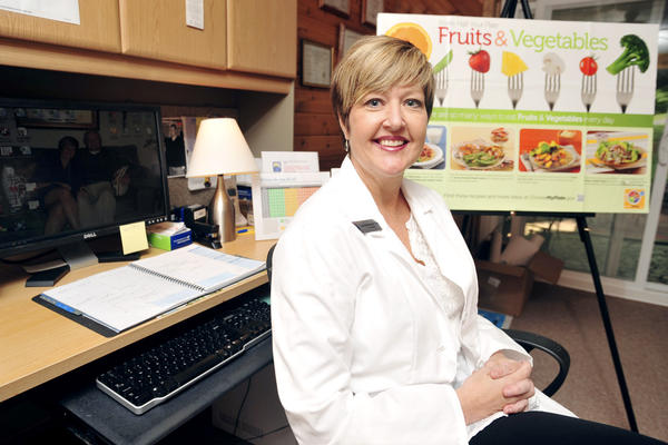 Lori Schellenberg opened Stepping Stone Health on April 6. The business offers tools and support for those seeking rapid and permanent weight loss.