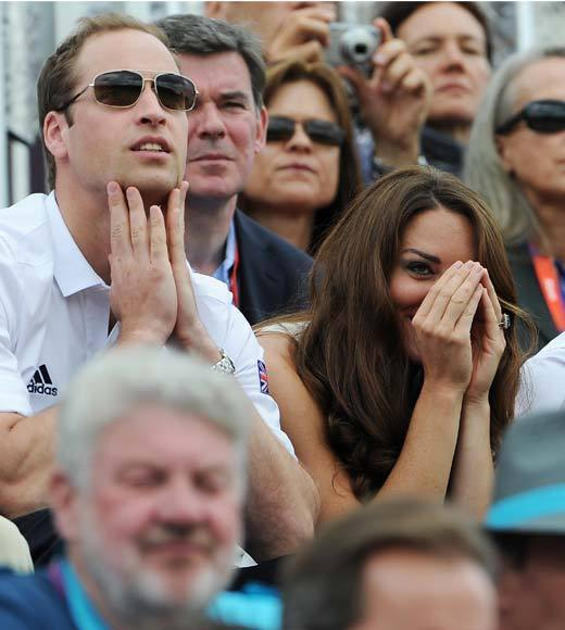 2012 Summer Olympics Best and Worst moments: Prince William and bride Catherine, Duchess of Cambridge, plus younger brother Prince Harry have been loud and proud home fans during the 2012 Summer Olympics. Wills and Harry were on hand to cheer the British men on in the gymnastics team finals and then all three watched tensely as their cousin, Zara Phillips, competed in the equestrian events.   -- Andrea Reiher, Zap2it