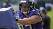 Matt Birk's absence Monday was chalked up to him taking advantage of the Ravens' tradition of giving players 30 years and older the option of taking the day off. But the 15-year center was not present during the first 45 minutes of Tuesday's session at the team's training complex in Owings Mills.