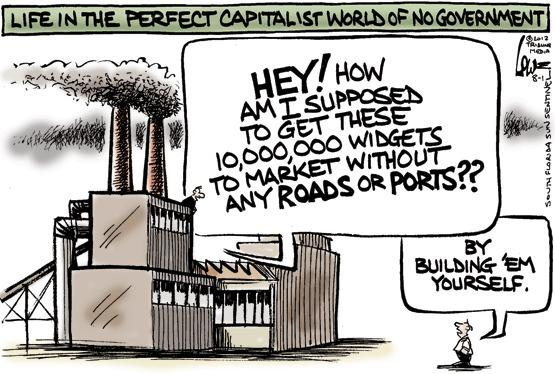 A perfect capitalist world