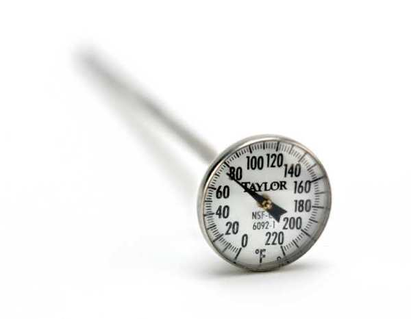Instant-read thermometer.