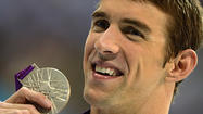 Michael Phelps stands alone at the top