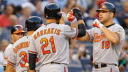 Chris Davis' first career grand slam leads Orioles to an 11-5 win over Yankees
