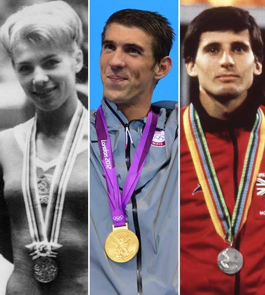 2012 Summer Olympics Best and Worst moments: Larisa Latynina, the woman whose all-time medal count record Michael Phelps broke with his 19th swimming medal, and Sebastian Coe, the London Olympics director, say Michael Phelps is not the greatest Olympian of all time.  Latynina contends its still her, since she won medals as the Soviet Unions coach in the 1970s, and Coe tosses around names like British rower Steve Redgrave and Romanian gymnast Nadia Comaneci.   We arent sure this is really a contest.  -- Andrea Reiher, Zap2it