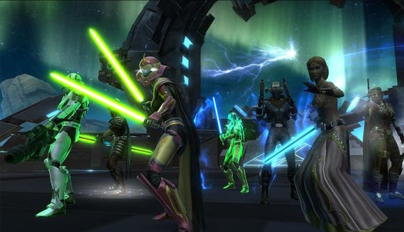 Star Wars Old Republic MMO