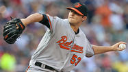 The Orioles are looking to complete a three-game sweep of the Yankees today at 1 p.m. Zach Britton (1-0) will make his fourth start of the year.