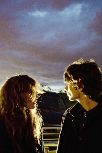Victoria Legrand (left) and Alex Scally of the Baltimore band Beach House. Their new album is 'Bloom.'