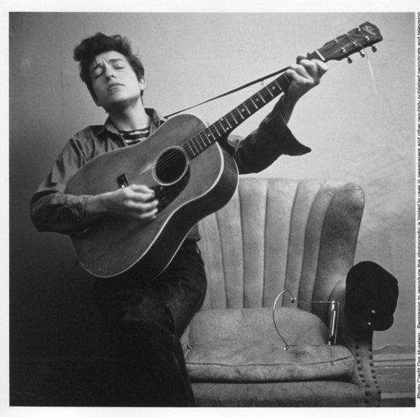 America's bard made his mark on American pop culture with his self-titled debut in 1962.