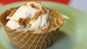 Today's taste: Maple-bacon crunch ice cream
