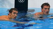 Michael Phelps seeded third in 200 IM final; Ryan Lochte is first
