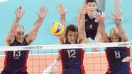 Two matches in and the U.S. Olympic men's volleyball team is looking good in London.