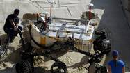 Scientists discuss rover's upcoming mountain climb on Mars