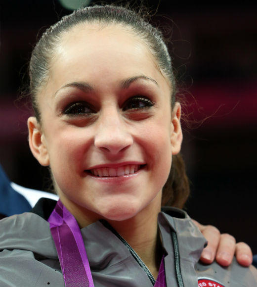 The 2011 world champion Jordyn Wieber gave her all in the women's gymnastics team finals on July 31, helping to win gold.