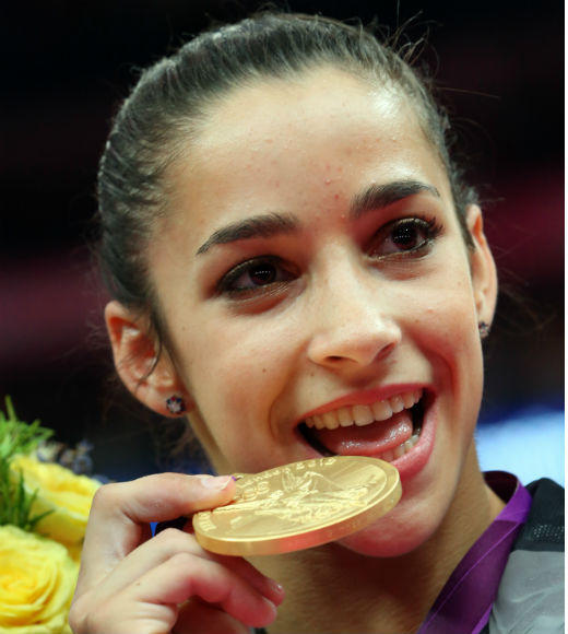 London 2012: Team USA's Gold Medalists: As team captain of the U.S. Womens Gymnastics Team, Aly Raisman helped the United States win the gold in the team finals on July 31. Raisman also received a gold medal in the womens floor exercise event and a bronze medal in the womens balance beam event.