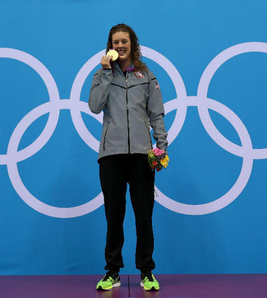 London 2012: Team USA's Gold Medalists: Allison Schmidt has won gold three times in the 2012 London Olympics. She won gold for her Olympic Record performances in the Womens 4x200m Freestyle on August 1, the Womens 200m Freestyle on July 31, and the Womens 4 x 100m medley on August 4.