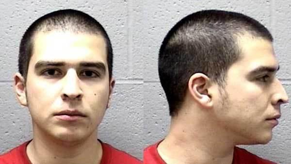 Booking photo of George Martinez