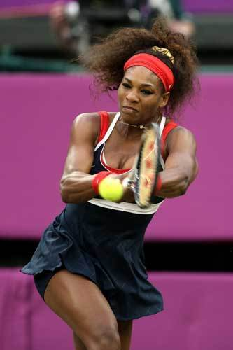 From the Games to the Screen: Olympic Athletes who went Hollywood: What HASNT Serena Williams won? Shes already got two Olympic gold medals for womens doubles. Then there are all her Wimbledon wins, her dominance at the French, Australian and US Opens. Shes been ranked as number one in the world five times, and is the only female tennis player to have raked in more than $35 million in prize money.