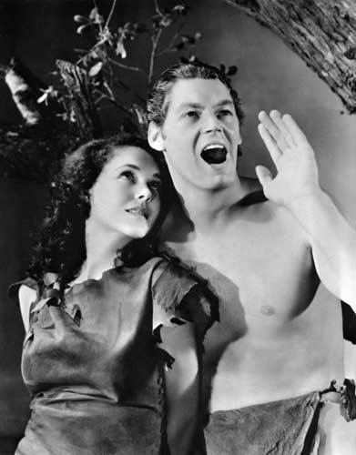 He was equally successful in Hollywood -- by way of the jungle. He became the iconic Tarzan for 12 movies, then he starred in 13 Jungle Jim movies (where he got to stay fully clothed). He even made three jungle movies playing ... himself.