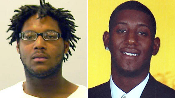 Cinque Lee (left), 20, of the 11600 block of South Vincennes Avenue, was charged this afternoon with first-degree murder in the slaying of Michael Haynes (right) on July 26, 2012.