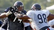 Early signs point to Webb for left tackle job