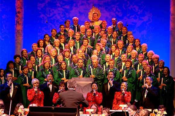 Candlelight Processional at Disney World's Epcot