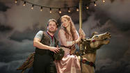 "<strong>The show:</strong> A revival of the Rodgers & Hammerstein musical ""Carousel"" at the Goodspeed Opera House in East Haddam."
