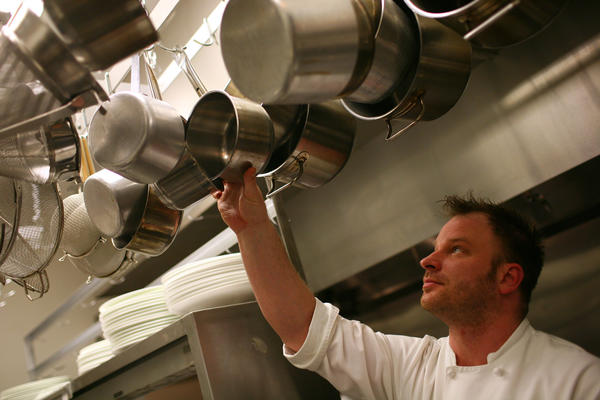 Chef Dale Levistki, shown at Sprout in Chicago in this 2010 file photo, and Spiaggia chef Sarah Grueneberg will compete in the Country Chef Challenge.