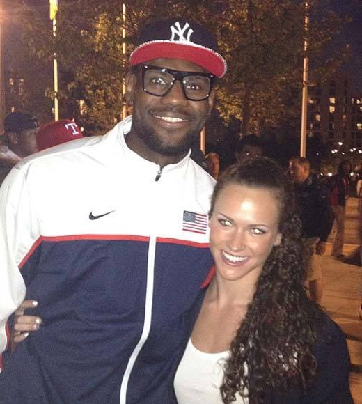 2012 Summer Olympics Best and Worst moments: In definitely the cutest Olympics story so far, U.S. swimmer Lauren Perdue turned down an invite from LeBron James to grab a bite in the Olympic Village dining hall. Her reason? Curfew. Awwww.   -- Andrea Reiher, Zap2it