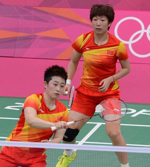 "Eight badminton players were disqualified from the Olympics for throwing matches so as to avoid tough opponents in the next round, led by Chinese duo Yu Yang and Wang Xiaoli. They were throwing matches so as to avoid playing the other Chinese duo in the next round, so that China could still have a shot at earning gold and silver, instead of knocking one team out. Following the DQ, Yu Yang blogged that she is leaving badminton forever. <BR><BR>-- <i><a href=""http://twitter.com/andrealeigh203"">Andrea Reiher</a>, <a href=""http://www.zap2it.com"">Zap2it</a></i>"