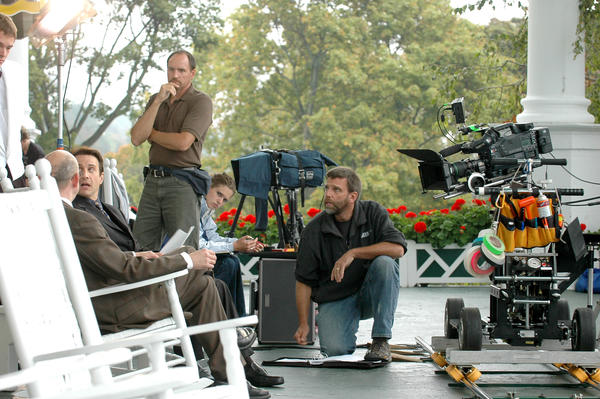"""Mr. Art Critic"" is filmed on location on Mackinac Island."