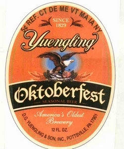 This Yuengling beer label that allegedly infringes on a New Jersey graphic artist's copyright was included in a federal lawsuit against D.G. Yuengling and Son.