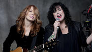 Nancy and Ann Wilson of Heart. They will perform Aug. 9 at the O.C. Fair.