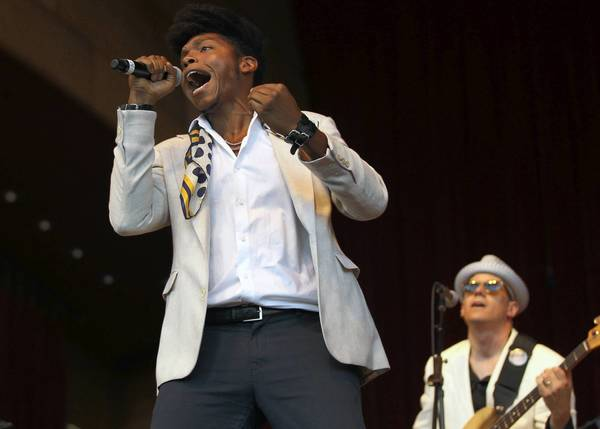 JC Brooks and the Uptown Sound play Lollapalooza at noon on Saturday.