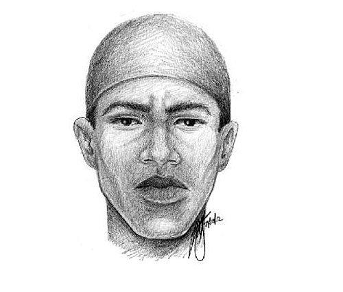 Sketch of suspect in July 5 homicide of transgender on North Eutaw Place