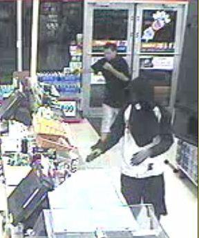 Broward Sheriffs detectives are searching for two armed suspects who robbed a 7 Eleven in Pompano Beach