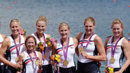 U.S. Women's Rowing Olympic Eight