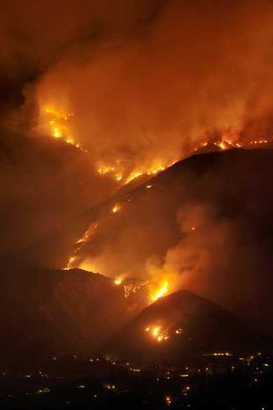 The Station fire consumed 161,000 acres of the Angeles National Forest in 2009.