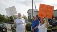 Fans of Chick-fil-A and 'Christian values' take a stand in Abingdon