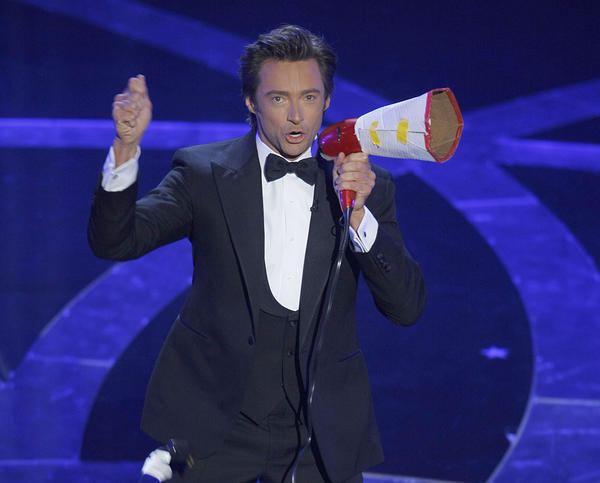 "Hugh Jackman's song-and-dance number at the opening of the <a href=""http://timelines.latimes.com/academy-awards/#1235260800000-pHealth"" target_""blank"">81st Academy Awards</a> in 2009 drew barbs from TV critics. The Times' Mary McNamara said of the performance: ""Somewhere in New York, a huge weight has been lifted from David Letterman's shoulders."""