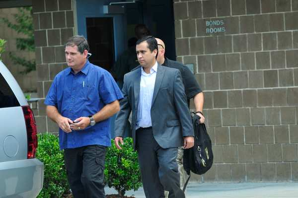 George Zimmerman leaves Seminole County Jail on July 6 after posting $1 million bail The judge agreed to release Zimmerman on condition that he wear a tracking device, stay within Seminole County, and accept a curfew. Zimmerman also was prohibited from opening a bank account, obtaining a passport or going to the airport.