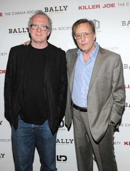"""Killer Joe"" writer Tracy Letts and director William Friedkin."