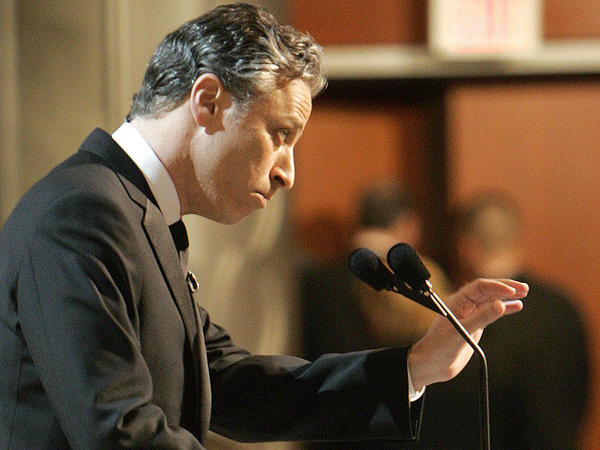 "The ""Daily Show"" host brought his outsider perspective into the heart of Hollywood for his stint as Oscar host in 2006. He poked fun at the awards-cast itself, which generally played better at home than it did in the theater."