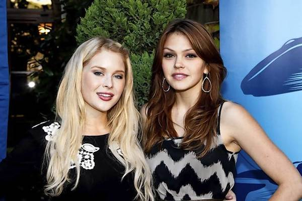 Renee Olstead and Aimee Teegarden.