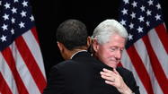 The Obama re-election team must be in panic mode. The president is stuck in a virtual tie with Mitt Romney in some polls and behind him in others, so in desperation it has reached out to the Big Dog, Bill Clinton, for help.