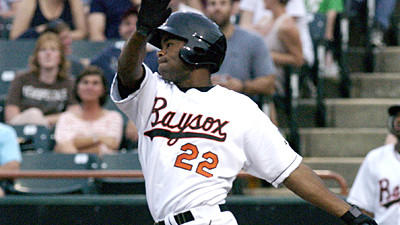Double-A Bowie utility player Josh Barfield was the top prospect for the San Diego Padres in 2004 and 2005, according to Baseball America.