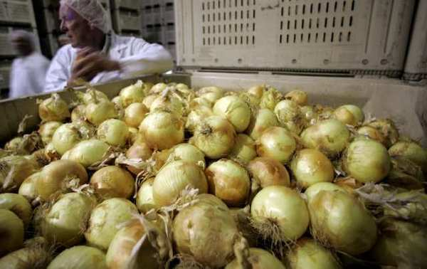 Gill's Onions in Oxnard, Calif., has recalled diced and slivered onions after one package tested positive for listeria.