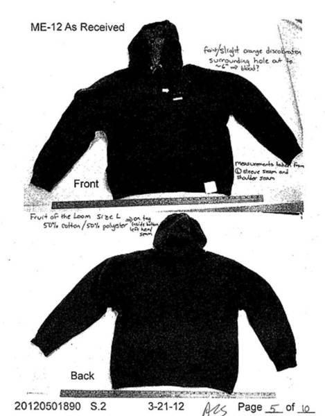 A photo from the Florida state attorney shows the hoodie Travon Martin was wearing at the time of his death.  That hoodie sparked its own controversy.  Those who spoke up included Geraldo Rivera, who later apologized -- sort of.