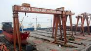 China's shipbuilders fall on hard times.