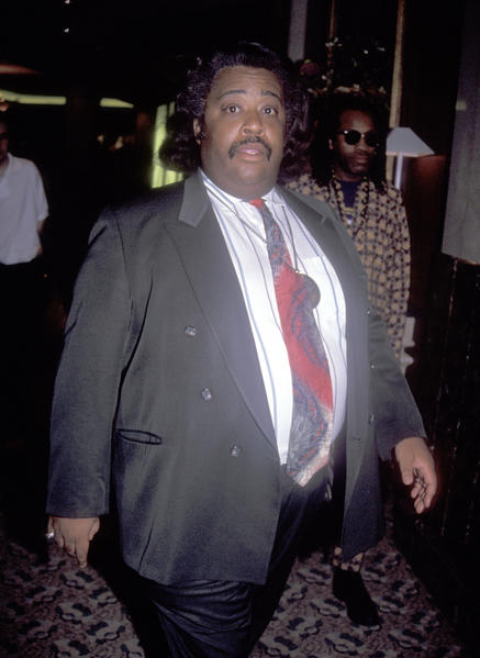 Celebrity weight loss pictures: Before and after: Reverend Al Sharpton in 1992.