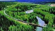 All aboard the Alaska Railroad